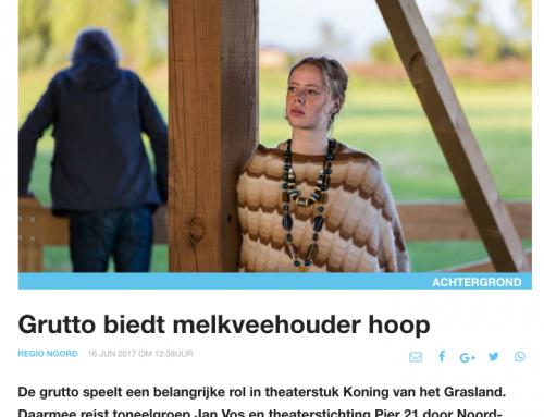 Nieuwe oogst: 'Grutto biedt melkveehouder hoop' door Tienke Wouda