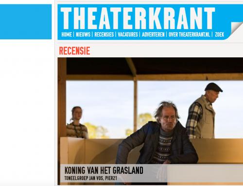 4 sterren recensie in Theaterkrant voor Koning van het Grasland
